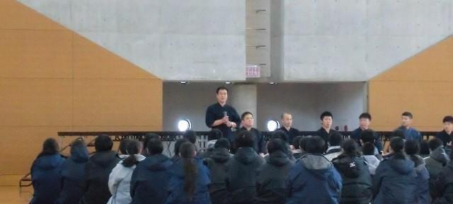 岩手県中学校剣道講習会