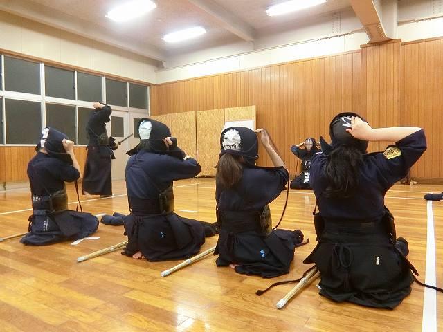 稽古日誌「1月9日(水)」寒稽古3日目