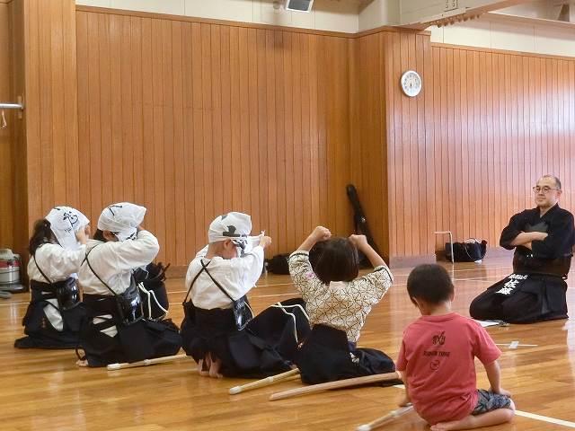 練習日誌「7月6日(土)級審査」