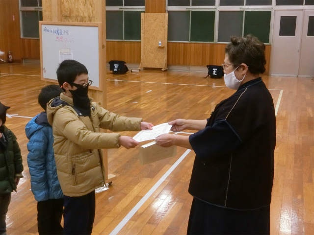稽古日誌「12月19日(土)」定期級審査