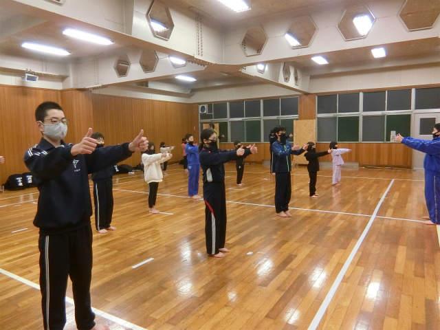 稽古日誌「1月5日(火)」寒稽古1日目