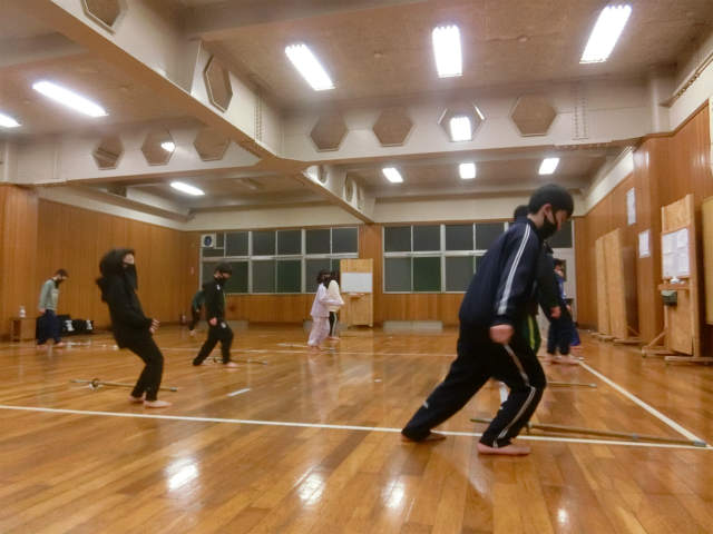 稽古日誌「1月9日(土)」寒稽古4日目