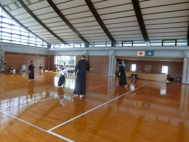 稽古日誌「7月23日(金・祝日)」 県武練習