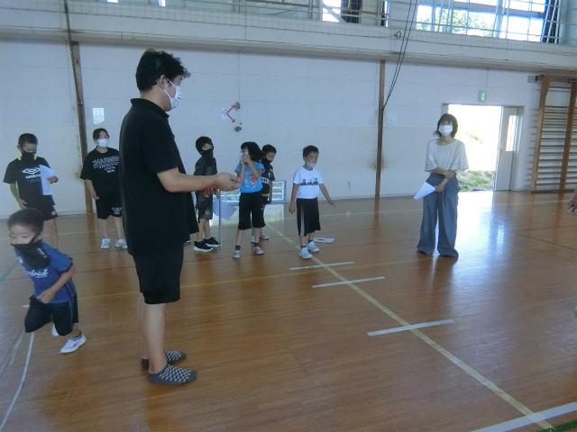 稽古日誌「8月7日(土)」運動適正テスト